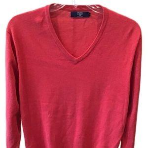 Other - J.Crew cotton men's V-neck sweater L